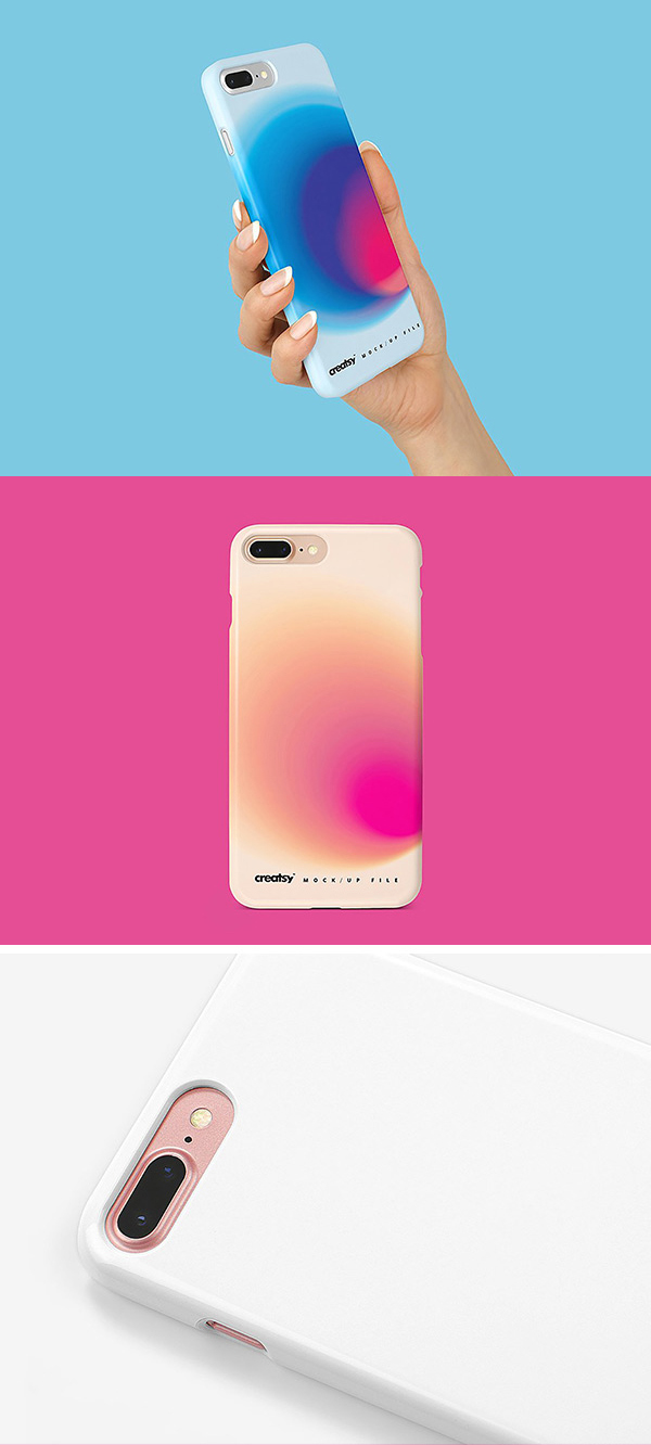 iPhone 8_ Case Mockup Download PSD
