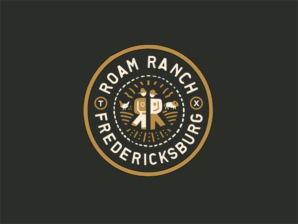 Roam Ranch Badge by Curtis Jinkins