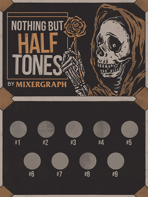Nothing but Halftones