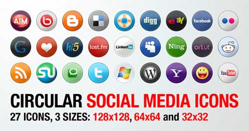 social bookmark 10 25 Social Bookmarking Icon Sets for Desingers and Bloggers
