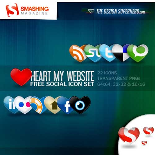 social bookmark 20 25 Social Bookmarking Icon Sets for Desingers and Bloggers
