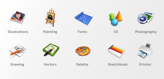 10 Free Useful Icons for Designers