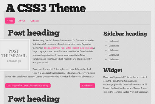 Csstemplates47 in 50 Free CSS/(X)HTML Templates