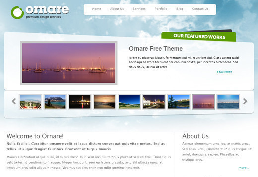 Csstemplates5 in 50 Free CSS/(X)HTML Templates