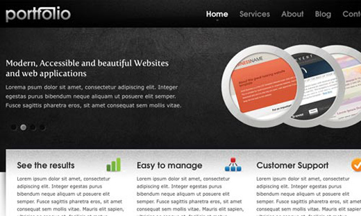 Csstemplates57 in 50 Free CSS/(X)HTML Templates