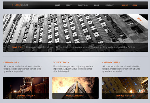 Csstemplates7 in 50 Free CSS/(X)HTML Templates
