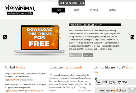 Csstemplates9 in 50 Free CSS/(X)HTML Templates