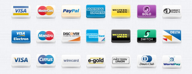 Payment Method Icons Set