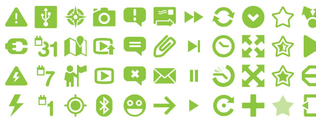 Android Native Icons