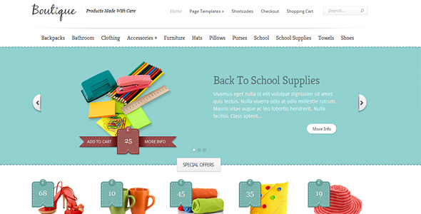 boutique The Best 50 Premium Wordpress Themes of 2011