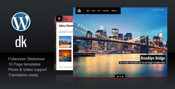 dk for photography The Best 50 Premium Wordpress Themes of 2011