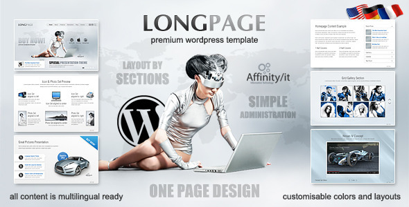 long page The Best 50 Premium Wordpress Themes of 2011