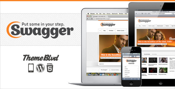swagger The Best 50 Premium Wordpress Themes of 2011