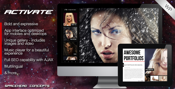 activate 60 Awesome Wordpress Themes of February 2012