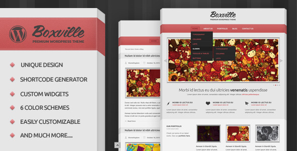 boxville 60 Awesome Wordpress Themes of February 2012