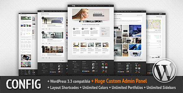 config 60 Awesome Wordpress Themes of February 2012