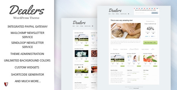 dealers 60 Awesome Wordpress Themes of February 2012
