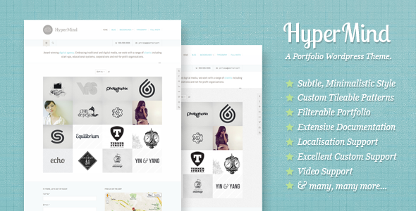 hypermind 60 Awesome Wordpress Themes of February 2012