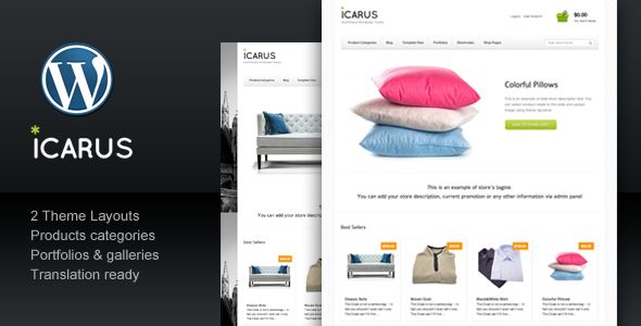 icarus 60 Awesome Wordpress Themes of February 2012