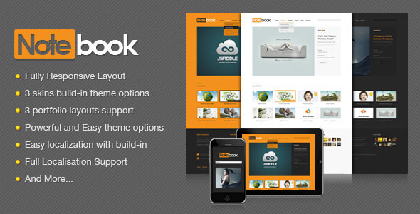 notebook 60 Awesome Wordpress Themes of February 2012