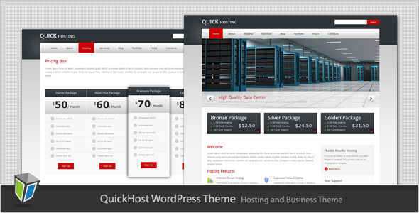 quick host 60 Awesome Wordpress Themes of February 2012
