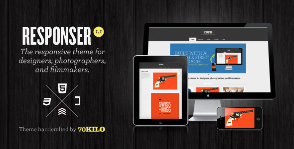 responser 60 Awesome Wordpress Themes of February 2012