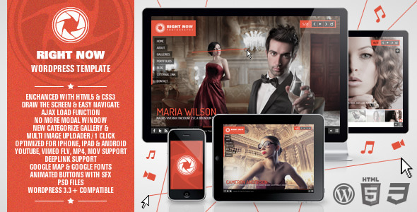 right now 60 Awesome Wordpress Themes of February 2012