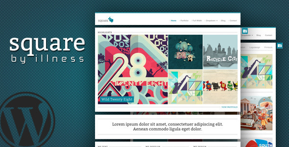 square 60 Awesome Wordpress Themes of February 2012