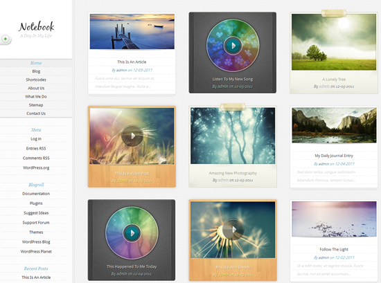 112 40 Beautiful Gallery Wordpress Themes to Insprite You
