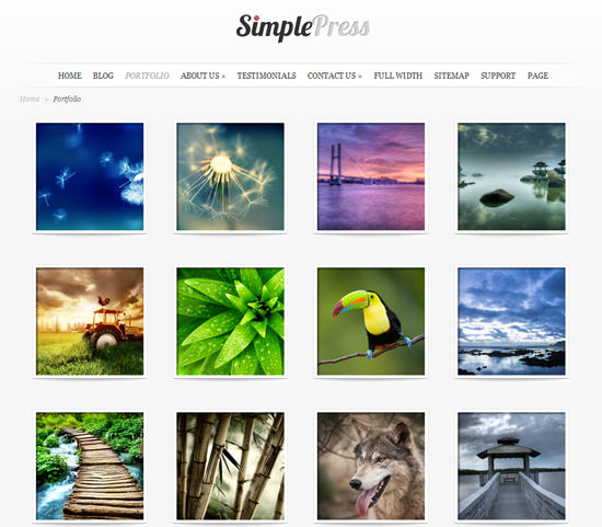 116 40 Beautiful Gallery Wordpress Themes to Insprite You