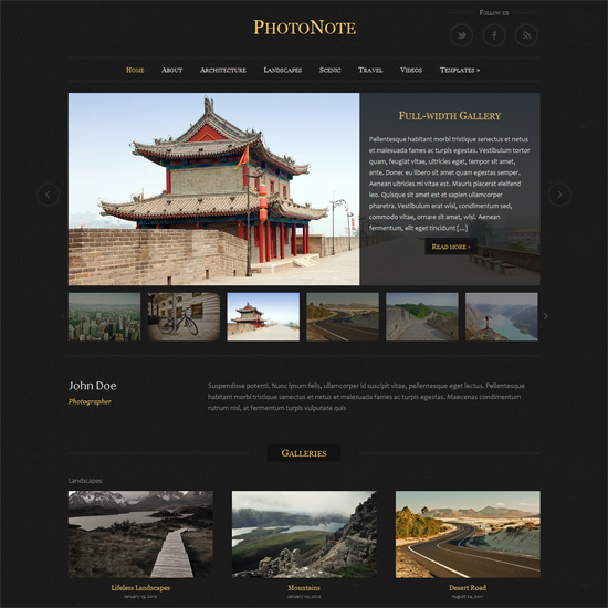 143 40 Beautiful Gallery Wordpress Themes to Insprite You