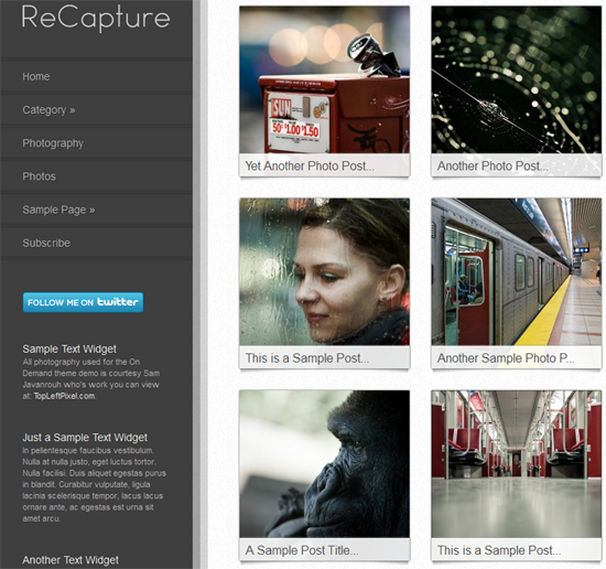 172 40 Beautiful Gallery Wordpress Themes to Insprite You