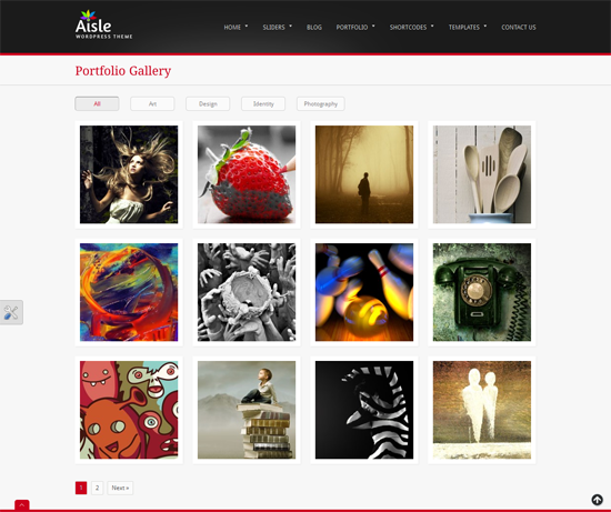 215 40 Beautiful Gallery Wordpress Themes to Insprite You