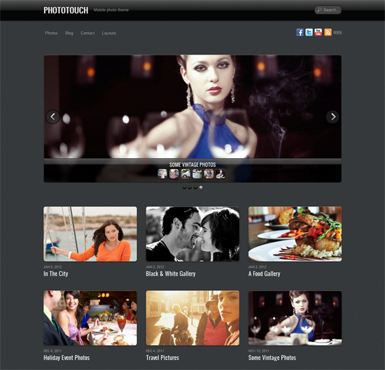 232 40 Beautiful Gallery Wordpress Themes to Insprite You