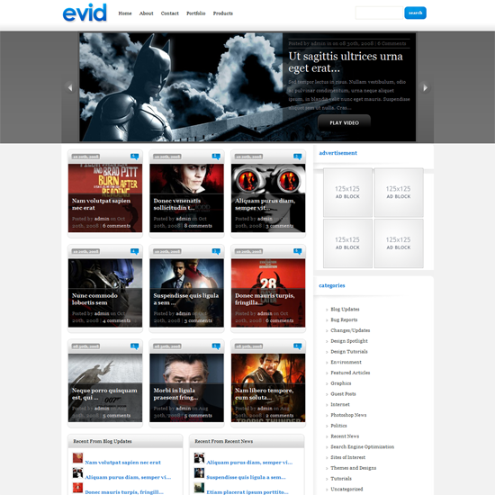 53 40 Beautiful Gallery Wordpress Themes to Insprite You