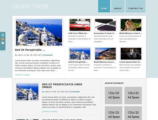 Design 35 Free and Professional looking WordPress Themes