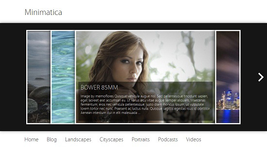 Minimatica 35 Free and Professional looking WordPress Themes